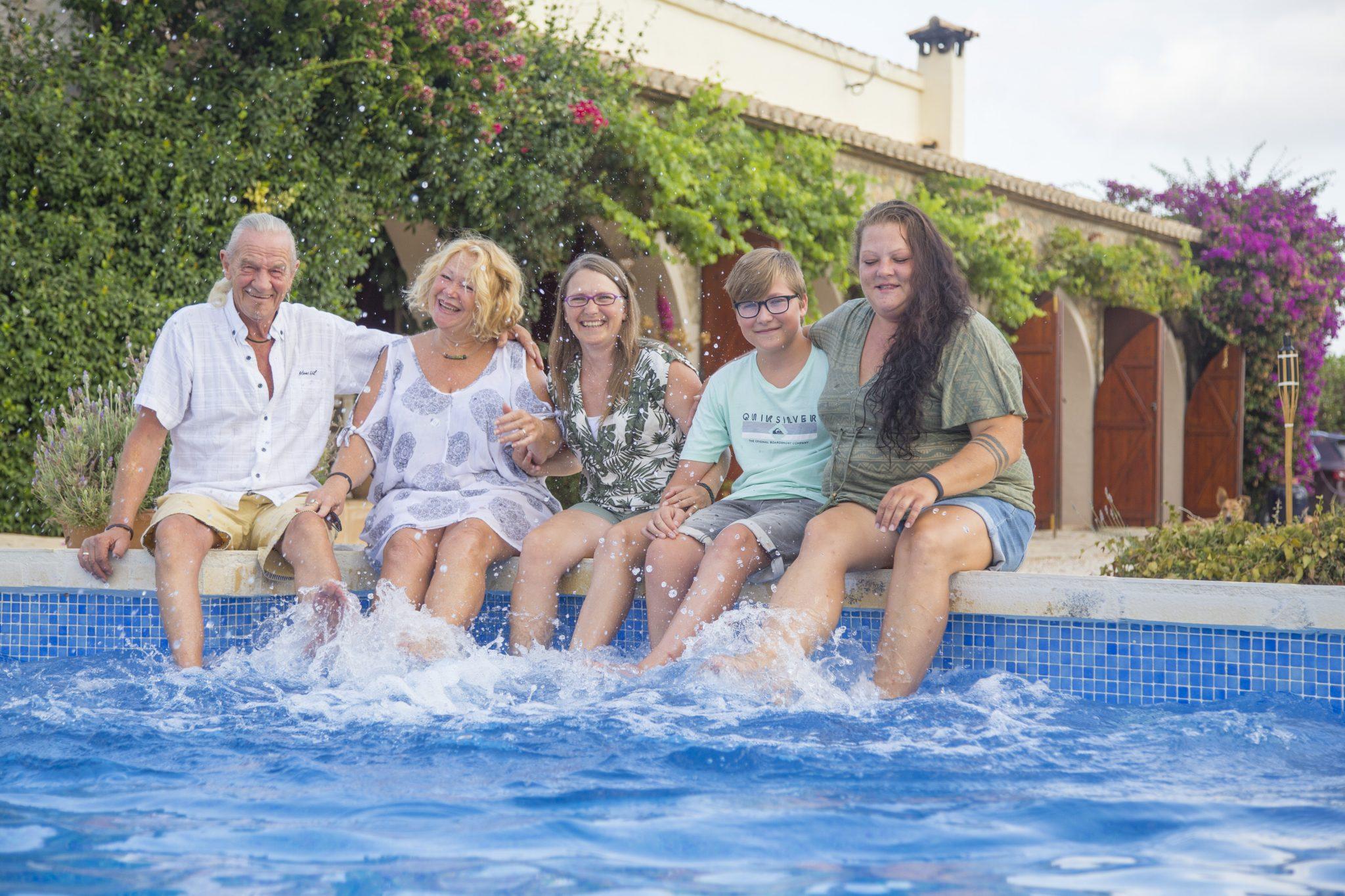 Andrea Lapzin-Thiem Familie