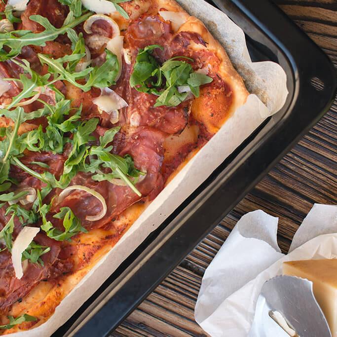 Basische Pizza Andrea kocht basisch